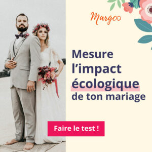 Mesure empreinte carbone mariage Margoo