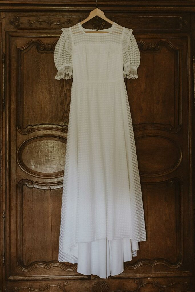 robe Mariage écologique shooting d'inspiration