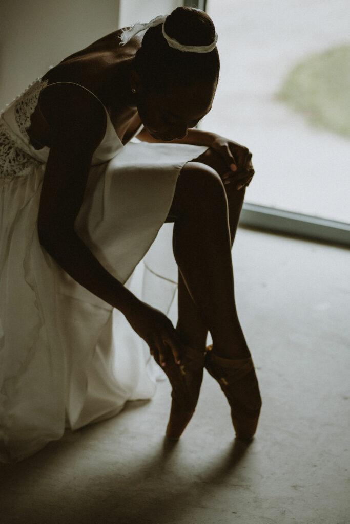 Mariée danseuse